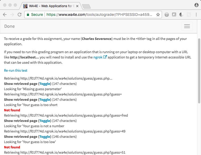 WA4E - Web Applications for Everybody